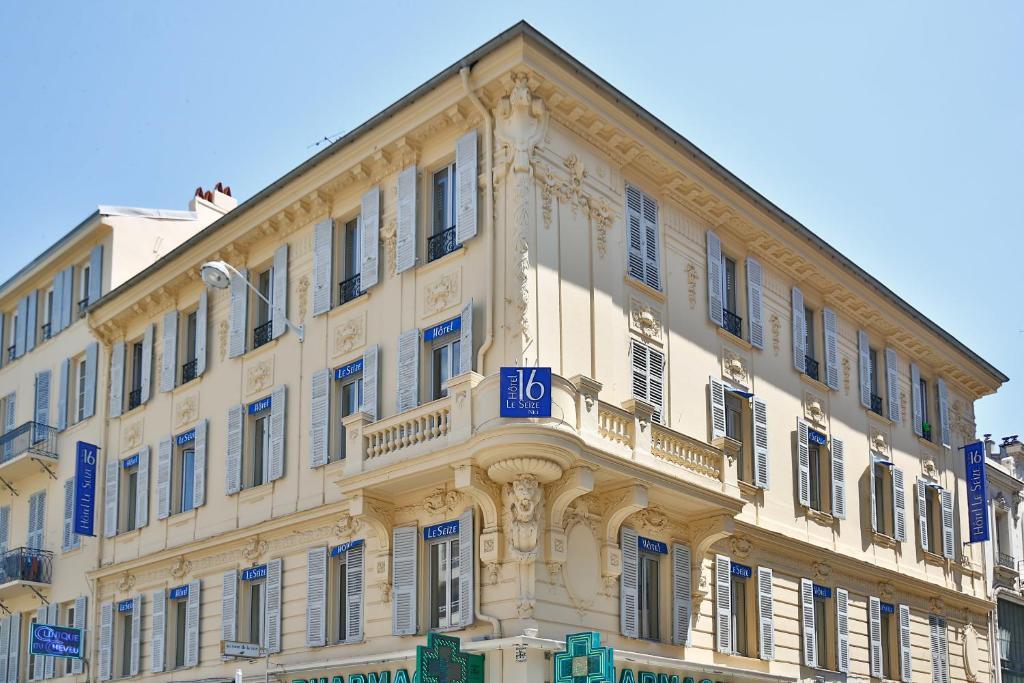 Отель Hôtel Le Seize, Nice Centre - отзывы Booking