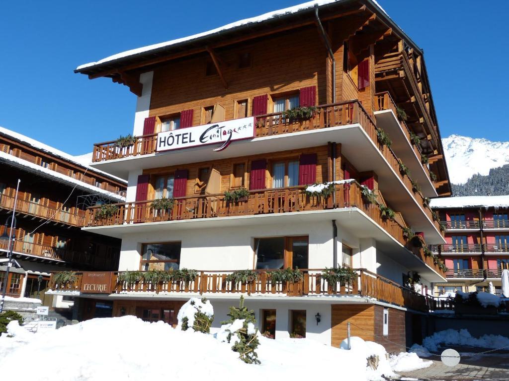 Отель  Hotel Ermitage Verbier  - отзывы Booking