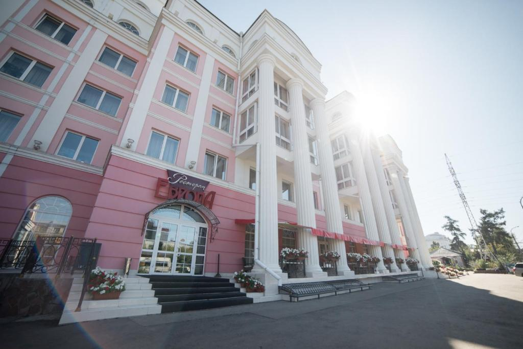 Отель Отель Европа - отзывы Booking