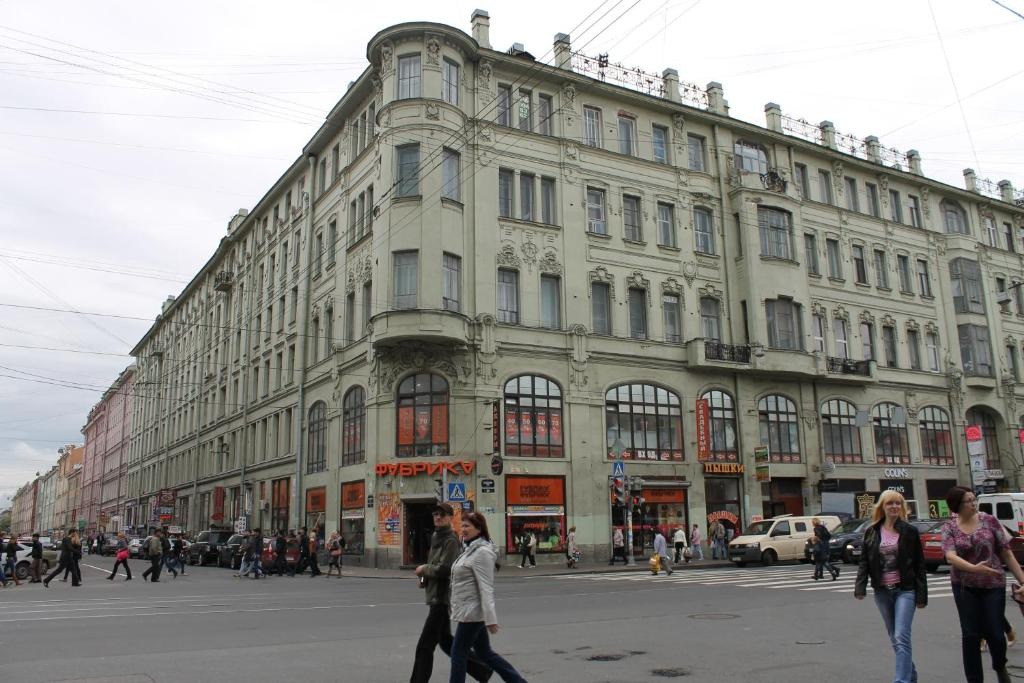 Апартаменты/квартира PiterFlat - Апартаменты на Садовой 32/1 (1к-3) - отзывы Booking