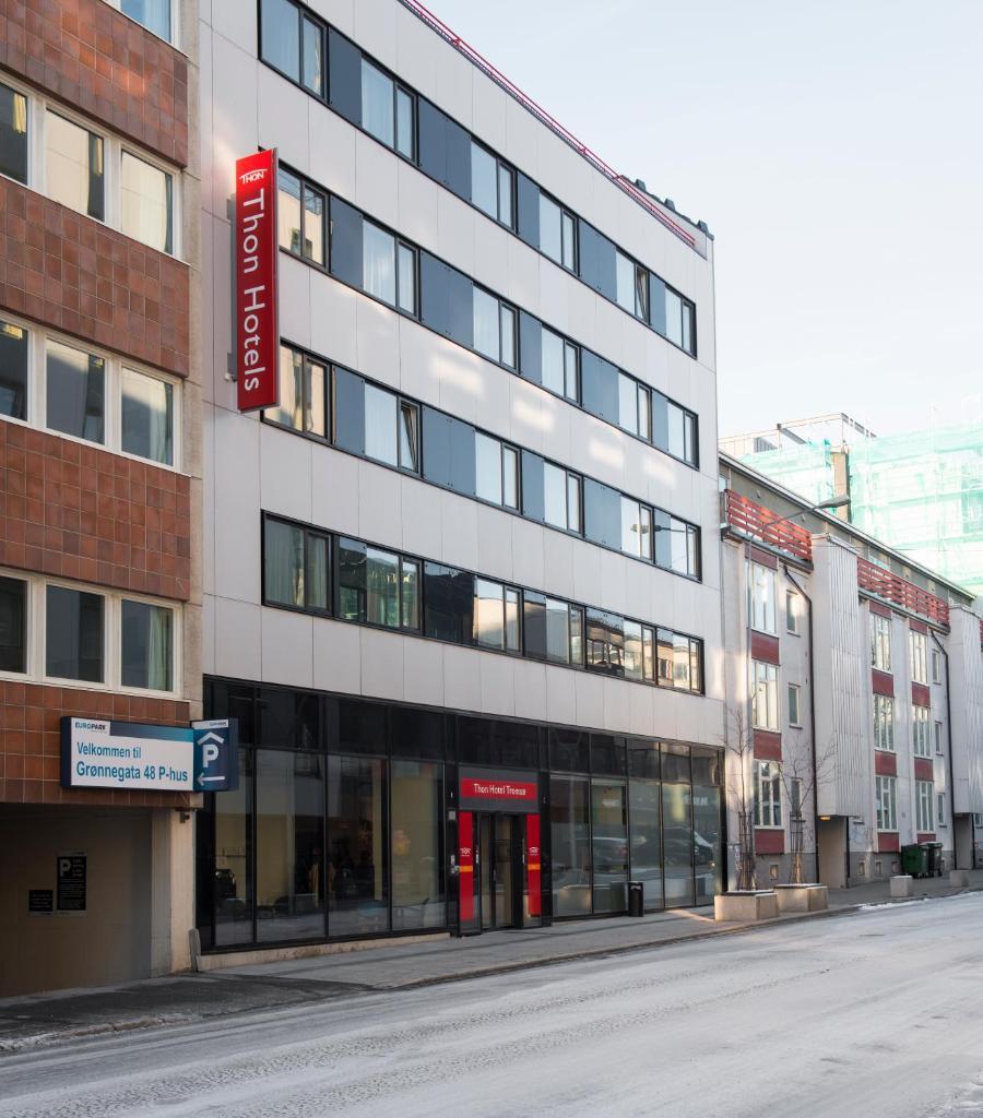 Отель  Thon Hotel Tromsø  - отзывы Booking