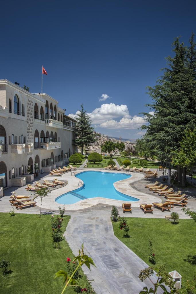 Отель Uchisar Kaya Otel - отзывы Booking