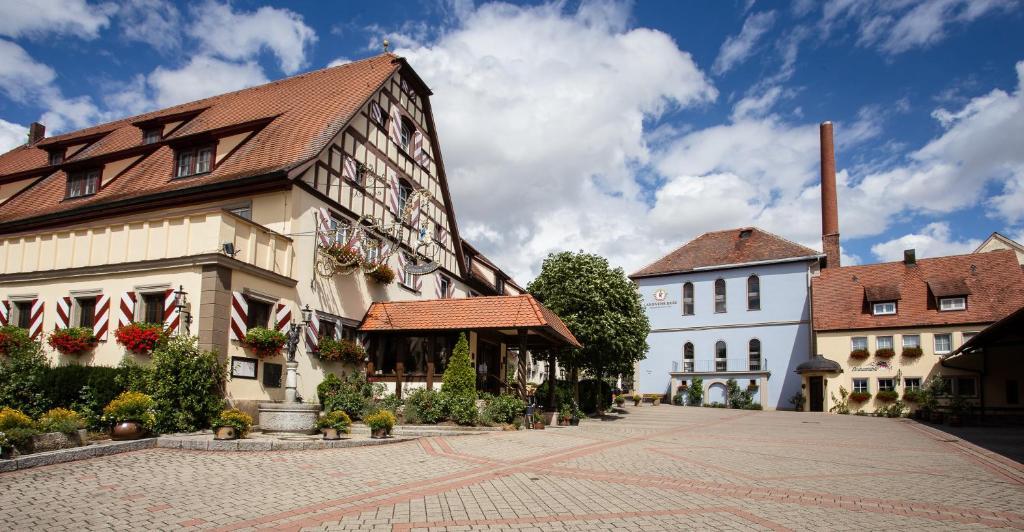 Отель  Hotel Brauereigasthof Landwehr-Bräu  - отзывы Booking