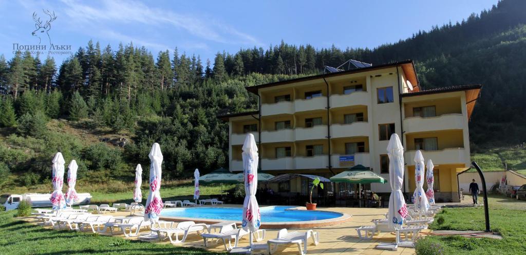 Отель  Hotel Restaurant Popini Laki  - отзывы Booking