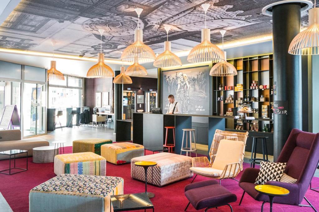 Отель  Novotel Lille Centre Gares  - отзывы Booking