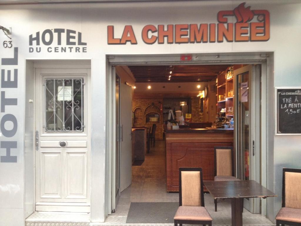 Отель  Hôtel du Centre  - отзывы Booking