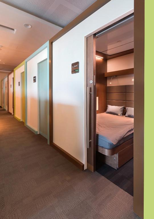 Capsule Hotel Sleep N Fly Sleep Lounge Dubai Uae Booking Com