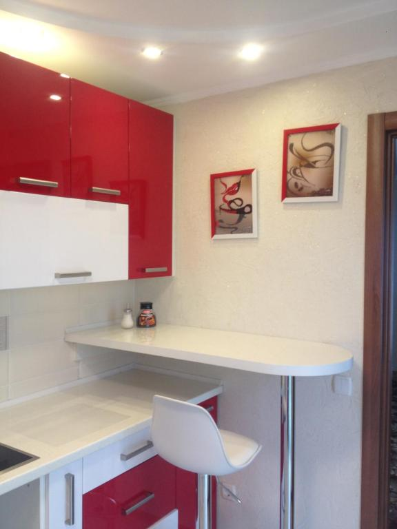 A bathroom at Apartment on Ivasyuka 11