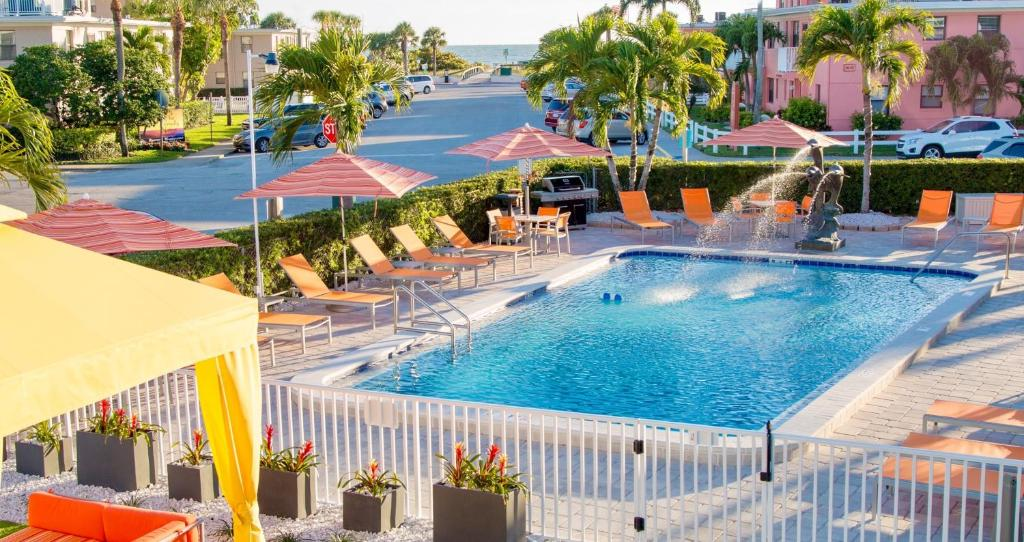 The swimming pool at or close to St. Pete Beach Suites