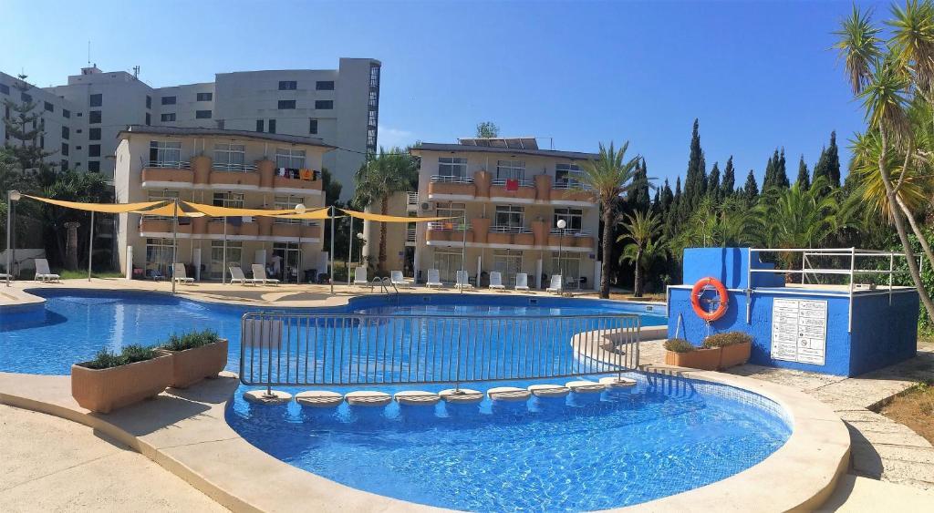 Der Swimmingpool an oder in der Nähe von Club Sa Coma