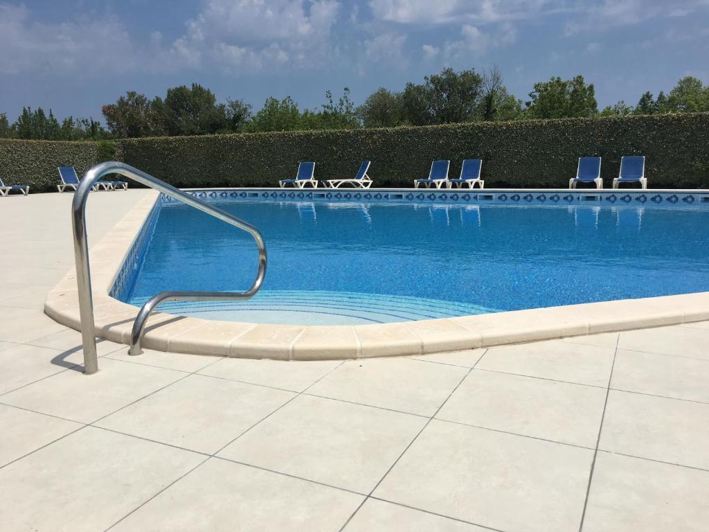 The swimming pool at or near L'Ecume