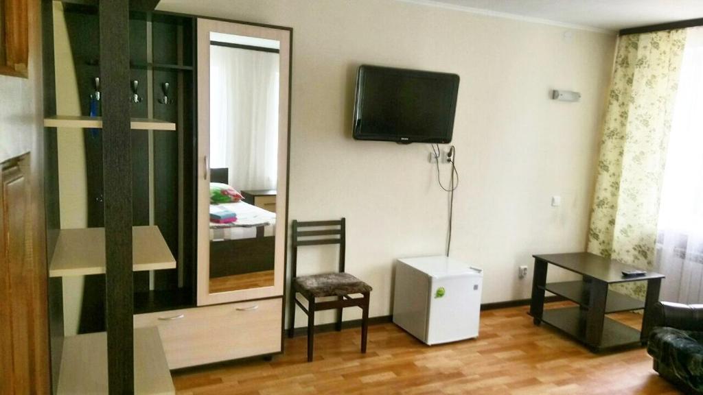 Телевизор и/или развлекательный центр в Мини-гостиница Валенсия