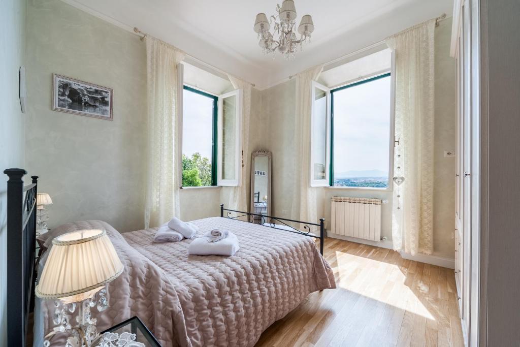 Letto o letti in una camera di Monteverde Holidays Home