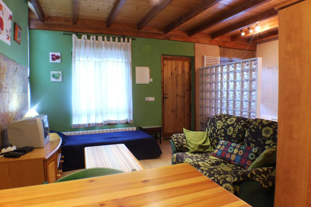 Zona de estar de Apartamentos La Picota
