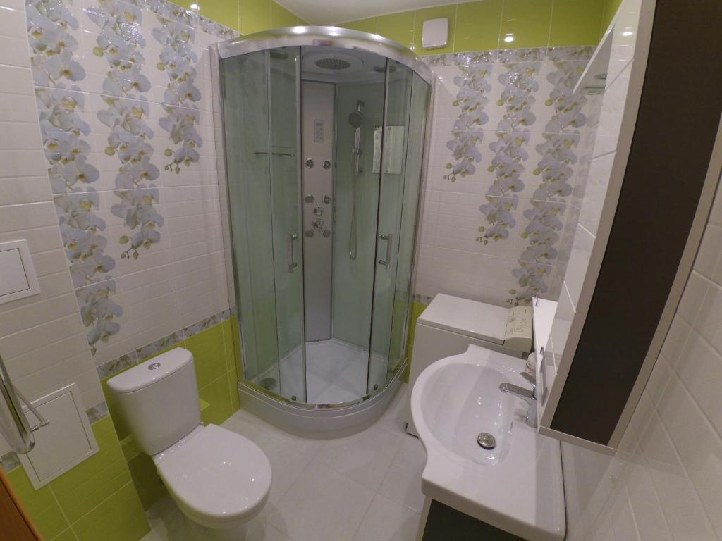 Ванная комната в Apartment on Chetaeva 10