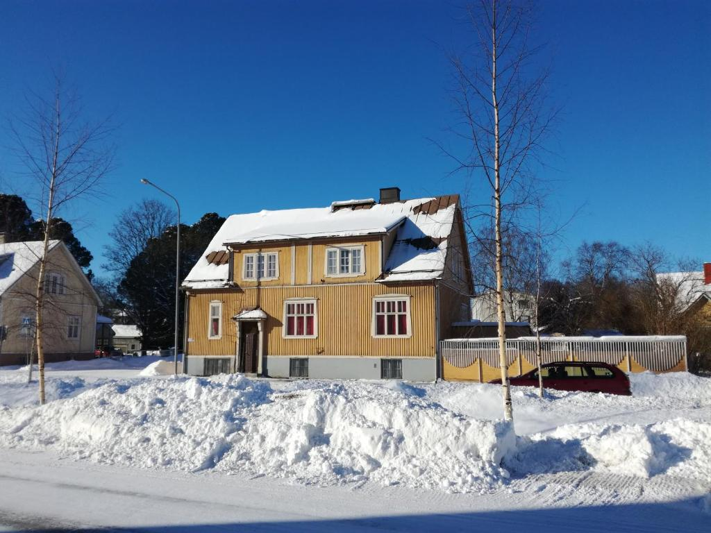 FirstHome GuestHouse during the winter