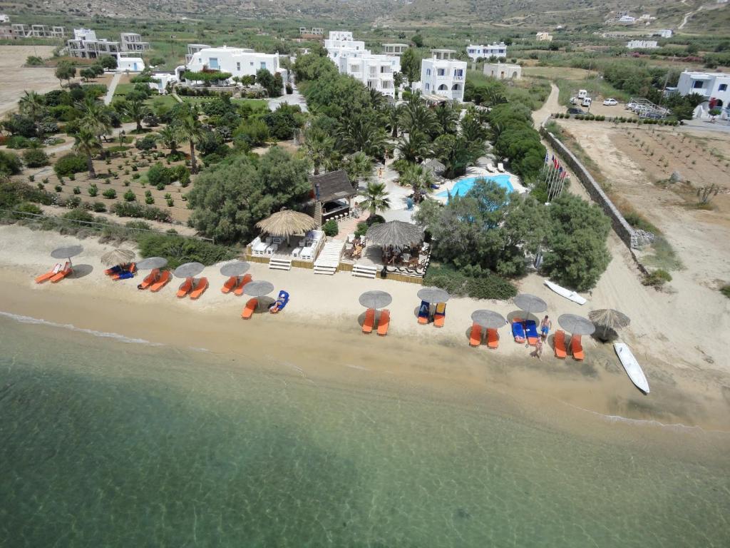 Blick auf Medusa Beach Resort & Suites aus der Vogelperspektive