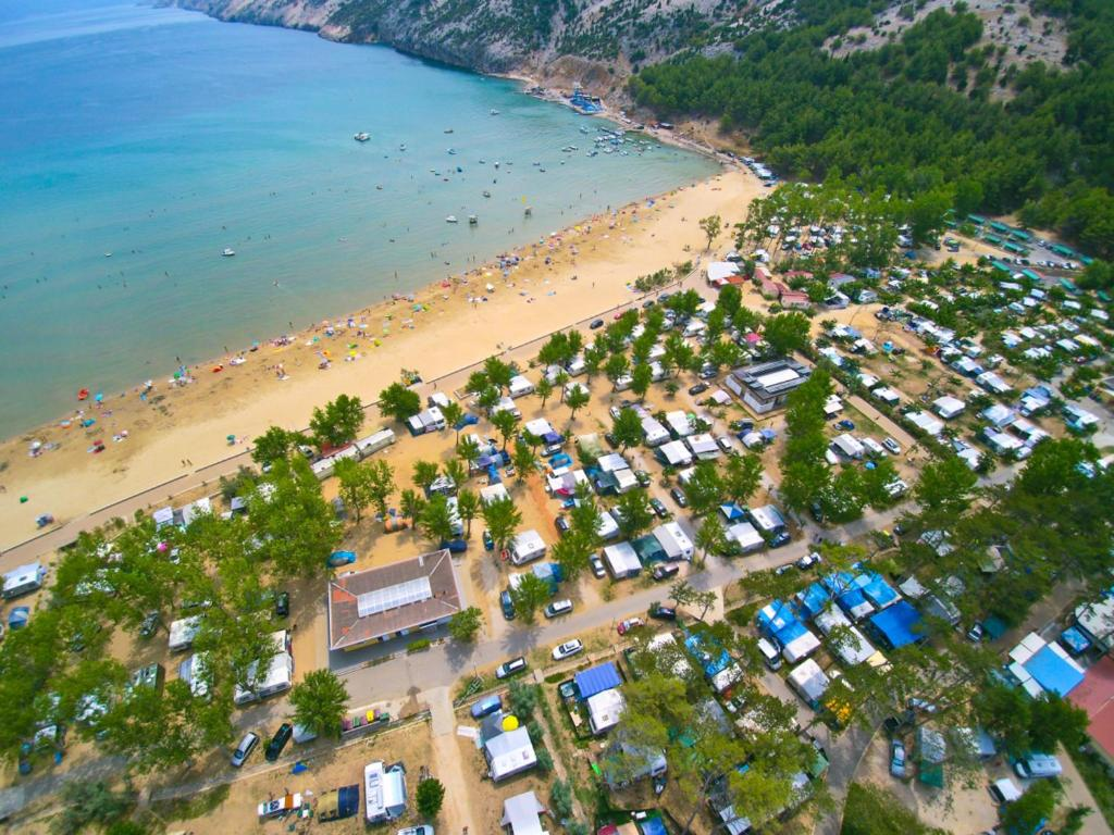 A bird's-eye view of San Marino Camping Resort by Valamar