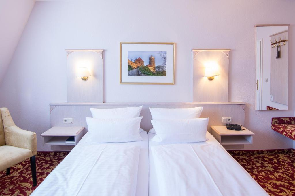 Кровать или кровати в номере Villa Antonia