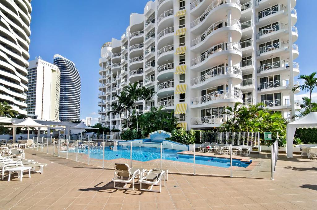 The swimming pool at or near Phoenician Resort Broadbeach - GCLR