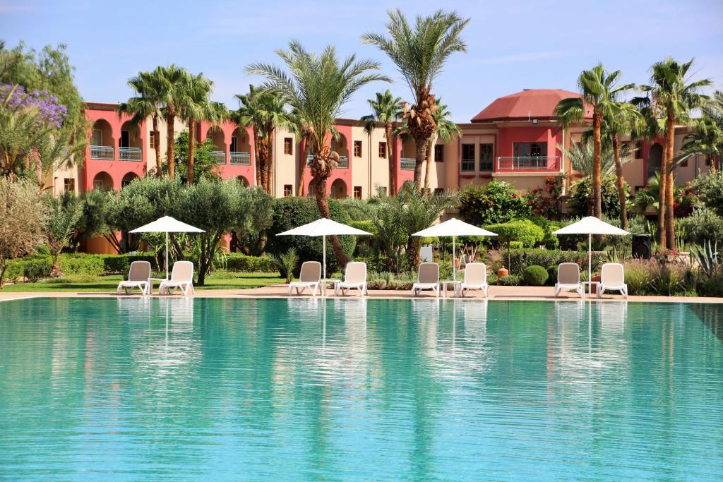 The swimming pool at or near Iberostar Club Palmeraie Marrakech