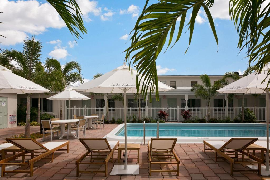 Der Swimmingpool an oder in der Nähe von Hotel Cabana Clearwater Beach