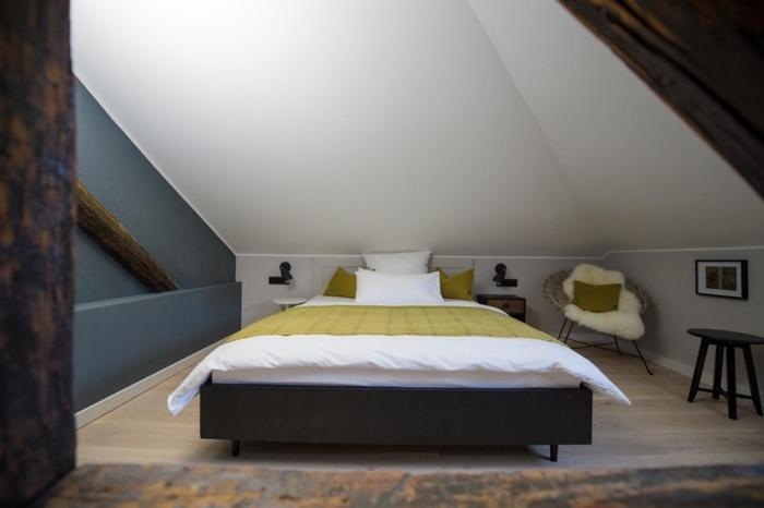 A bed or beds in a room at Villa Weiss