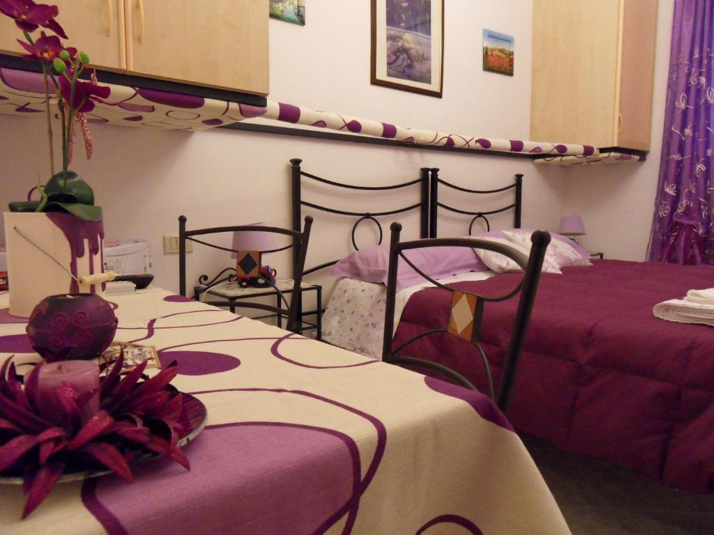 A bed or beds in a room at Di mare e di Sale