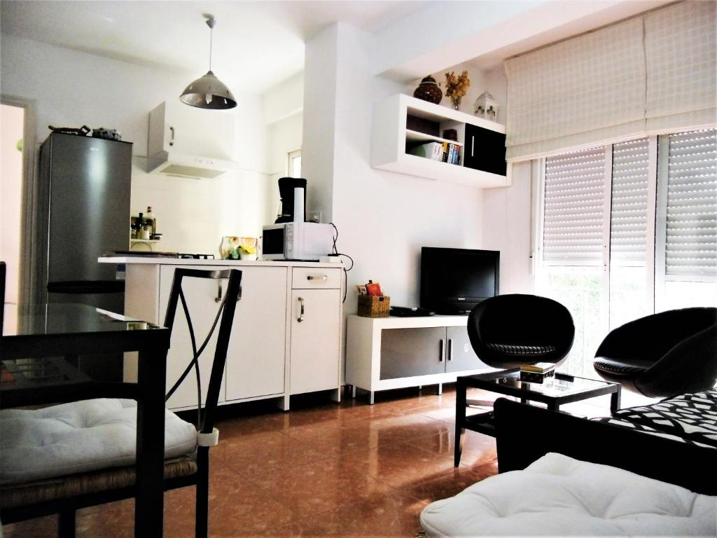 Una cocina o zona de cocina en Apartamento Alameda