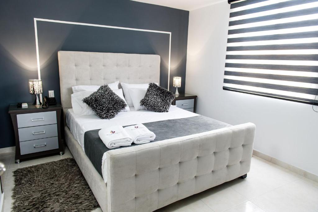 Cama o camas de una habitación en Hotel Roosevelt Plaza