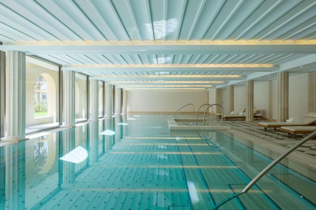 The swimming pool at or near Villa Maïa