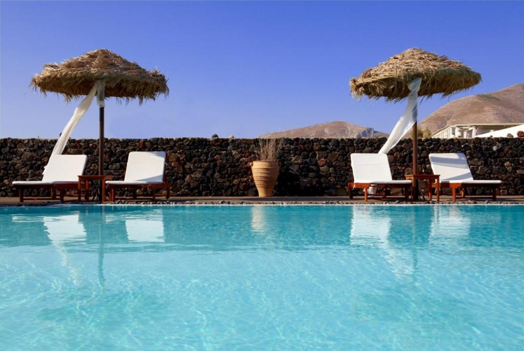 The swimming pool at or close to Anna Traditional Apartments