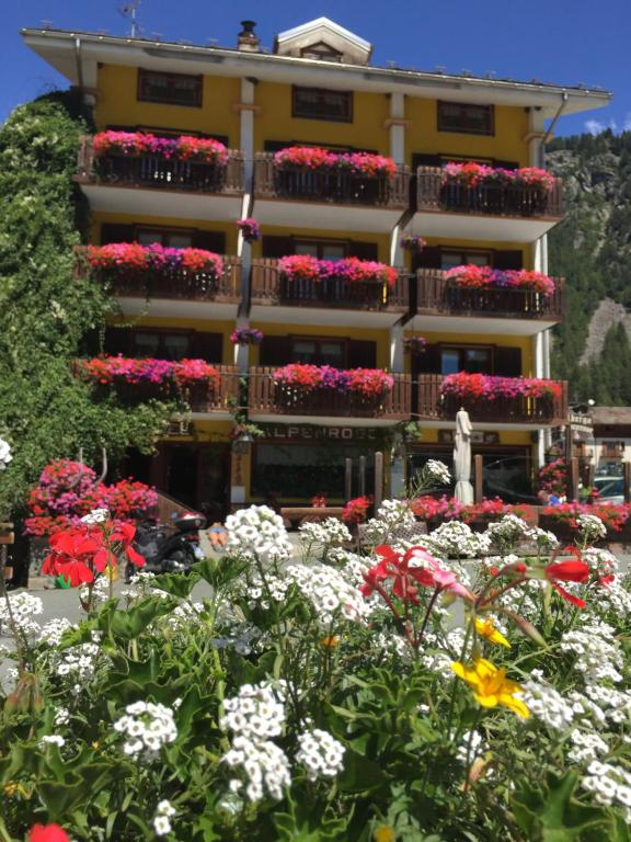 Albergo Alpenrose Gressoney-Saint-Jean, Italy