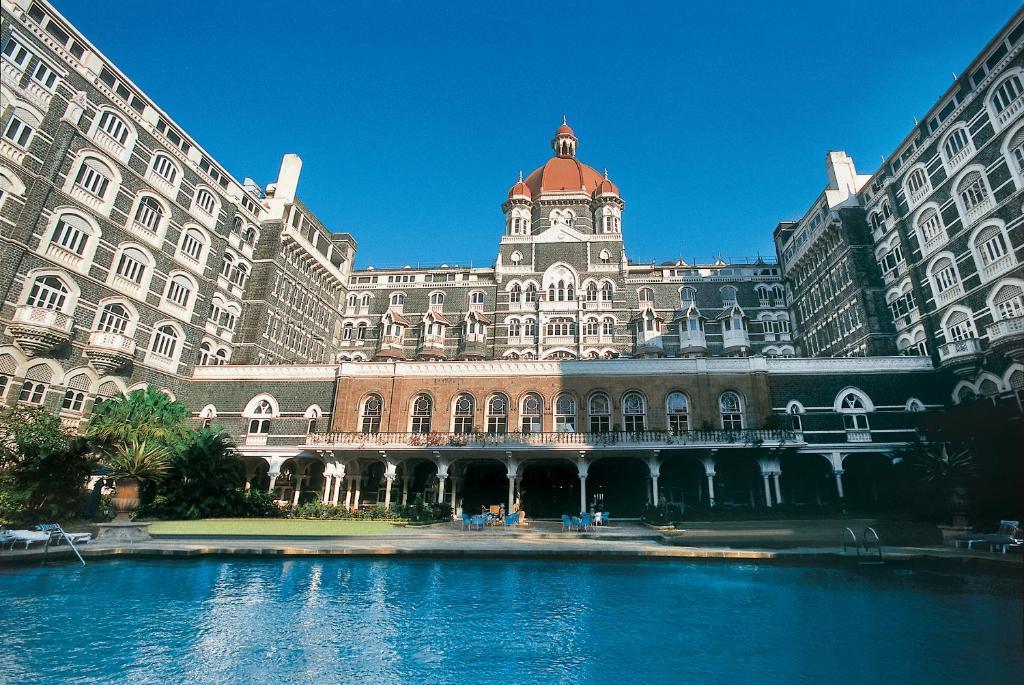 The swimming pool at or near The Taj Mahal Palace, Mumbai