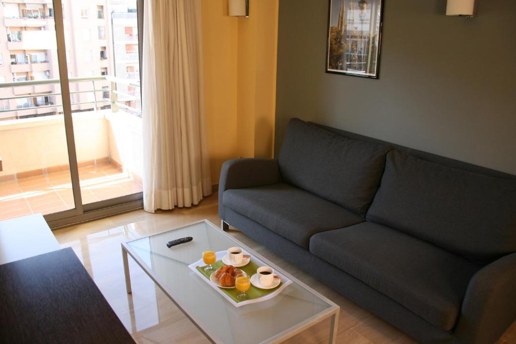 Zona de estar de Suites Independencia - Abapart