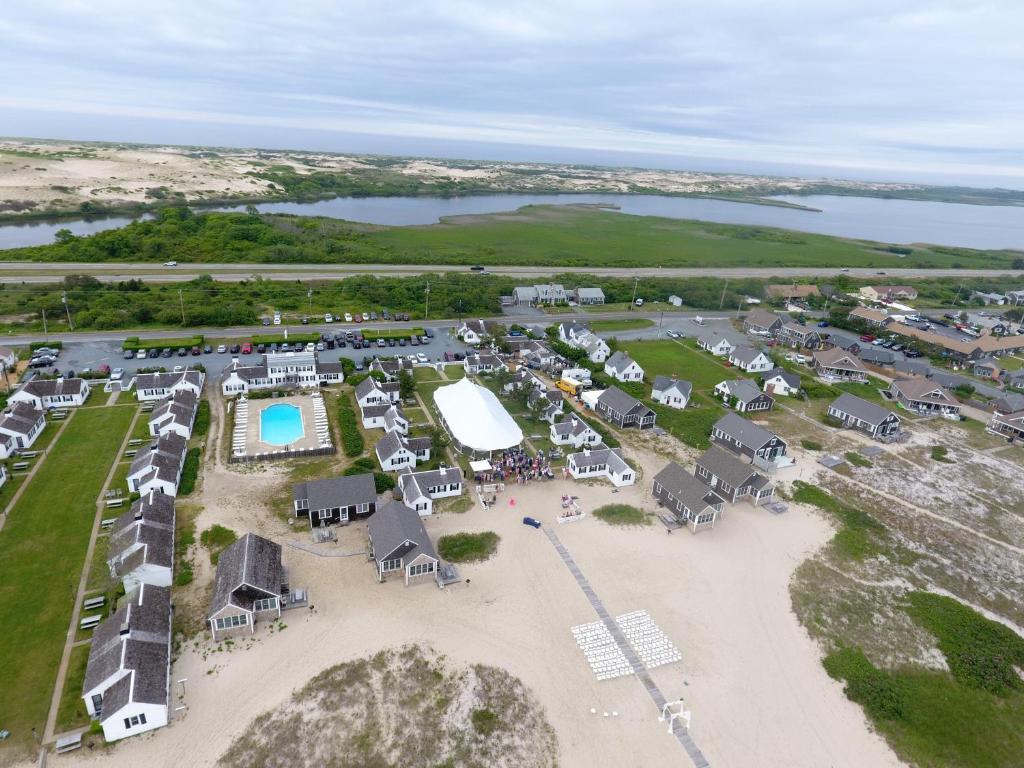 A bird's-eye view of Kalmar Village & Tradewinds