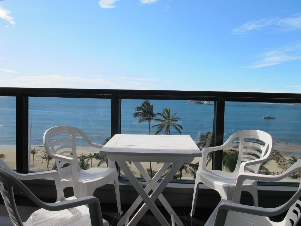 A balcony or terrace at Particular Iracema Residence