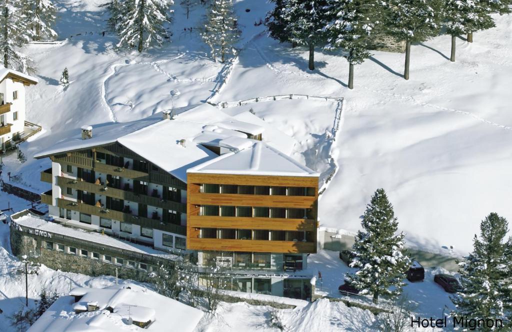 Hotel Mignon Rosimstraße 25 im Winter