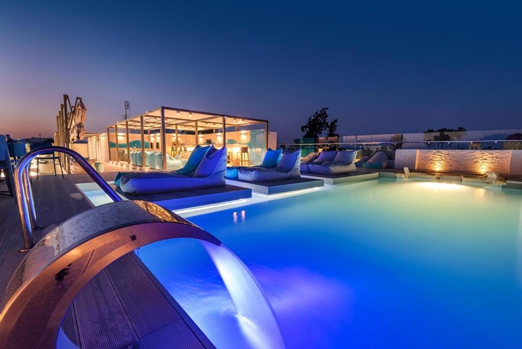 The swimming pool at or close to Maritina Hotel