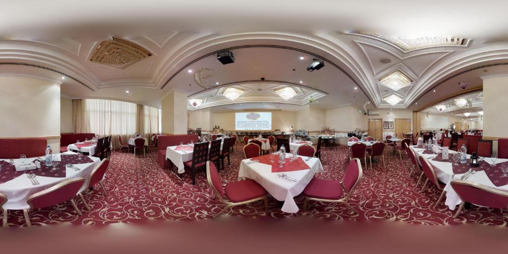 مطعم أو مكان آخر لتناول الطعام في فندق جراند كونتيننتال فلامنجو
