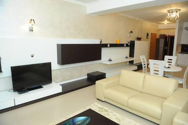 O zonă de relaxare la Apartament Tanya Tudor's Residence
