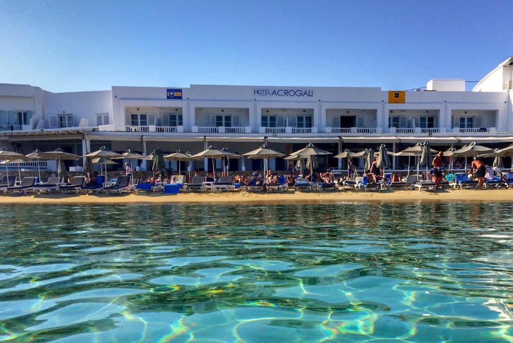 Acrogiali Hotel Platis Yialos Mykonos, Greece