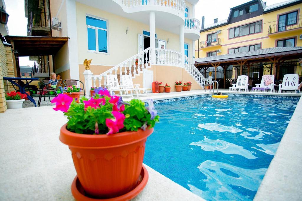 The swimming pool at or close to Hotel Geo&Mari
