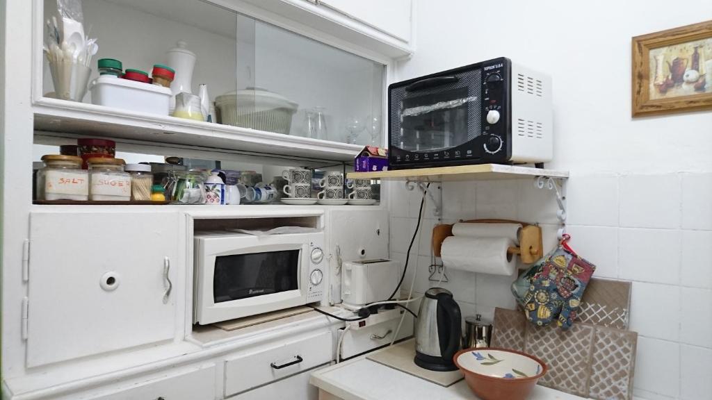 A kitchen or kitchenette at Stella Maris Hosting