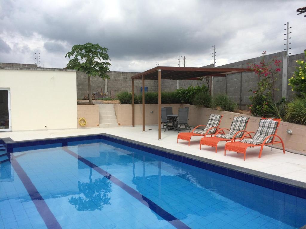 The swimming pool at or near B & B Alcelinda
