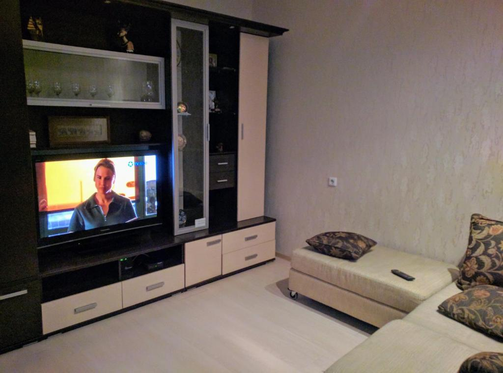 A television and/or entertainment center at Apartment on Lomonosova 29