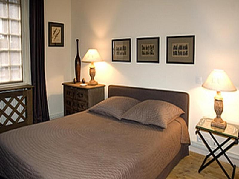 Un ou plusieurs lits dans un hébergement de l'établissement Au Grey d'Honfleur