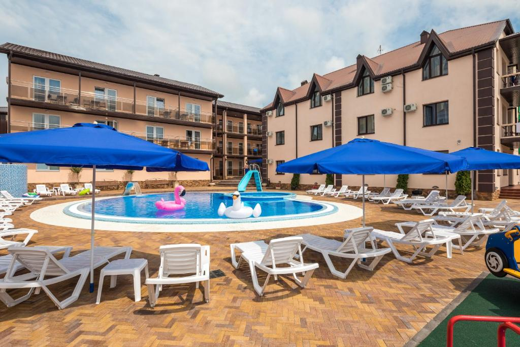 The swimming pool at or near Hotel Kiparis