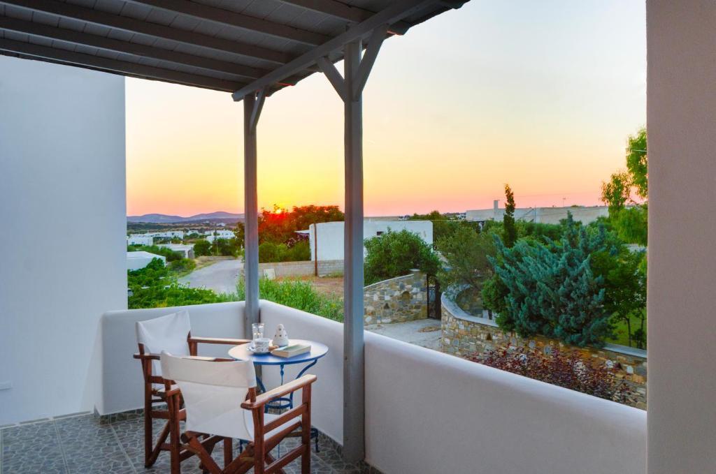 En balkong eller terrass på Anixis Studios