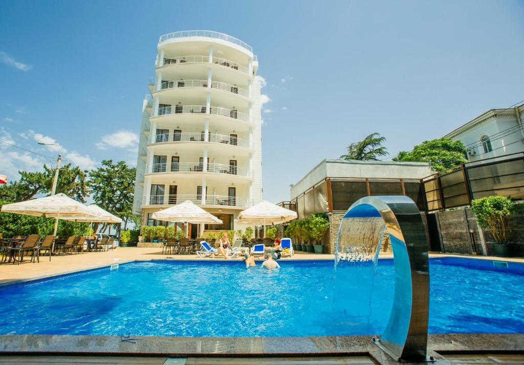 The swimming pool at or near Kobuleti Pearl Of Sea Hotel & Spa